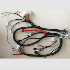 Wire harness for motorcycle